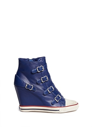 Main View - Click To Enlarge - Ash - United leather wedge sneakers