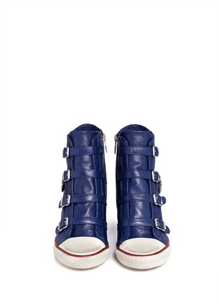 Figure View - Click To Enlarge - Ash - United leather wedge sneakers