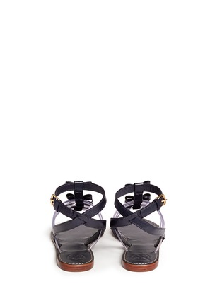 Back View - Click To Enlarge - Tory Burch - Kira bow gladiator sandals