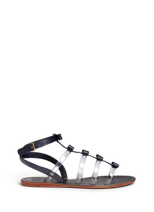 Main View - Click To Enlarge - Tory Burch - Kira bow gladiator sandals