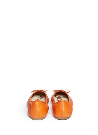 Back View - Click To Enlarge - Sam Edelman - 'Felicia' leather ballet flats