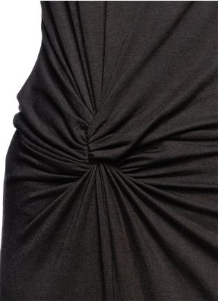 Detail View - Click To Enlarge - Elizabeth and James - 'Marine' asymmetric drape dress