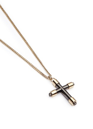 Detail View - Click To Enlarge - Givenchy - Cross pendant necklace