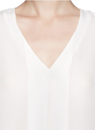 Detail View - Click To Enlarge - Theory - 'Trent' silk blouse