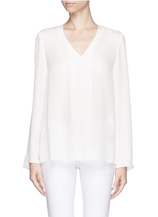 THEORY - 'Trent' silk blouse