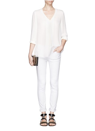 Figure View - Click To Enlarge - Theory - 'Trent' silk blouse