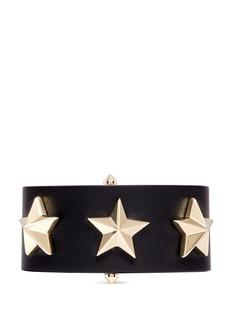 GIVENCHYStar stud leather bracelet
