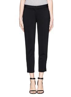 THEORYScyler zip cuff crop pants