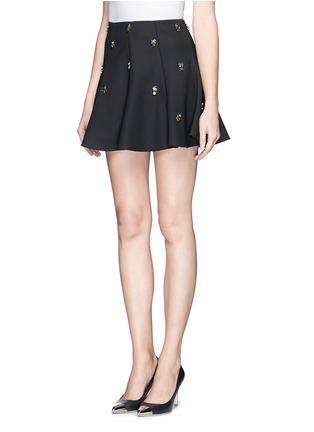 Front View - Click To Enlarge - Elizabeth and James - 'Riley' embellished skirt