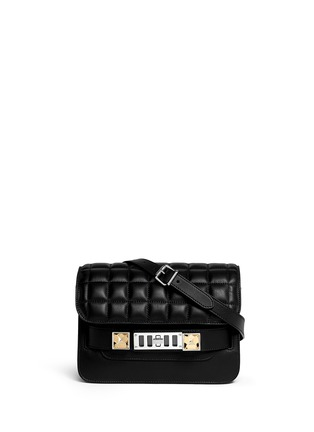 Main View - Click To Enlarge - Proenza Schouler - PS11 Mini quilted leather bag