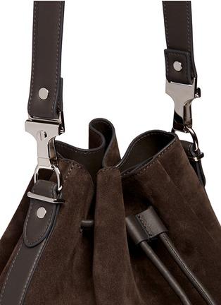 Proenza Schouler-Large suede bucket bag