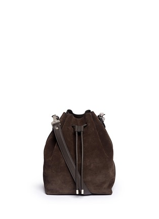 Main View - Click To Enlarge - Proenza Schouler - Large suede bucket bag