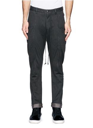 首图 - 点击放大 - ATTACHMENT - 侧口袋低裆长裤