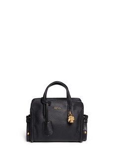 ALEXANDER MCQUEEN 'Padlock' mini leather tote