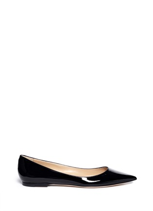 Main View - Click To Enlarge - Jimmy Choo - 'Alina' patent skimmer flats