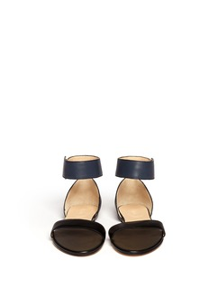 CHLOÉ Ankle strap leather sandals
