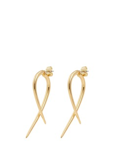 Michelle Campbell 'Large Talon' 14k gold earrings