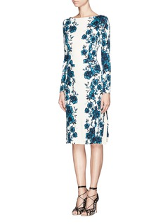 TORY BURCH 'Ria' floral print dress