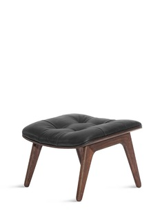 NORR11 Mammoth leather ottoman