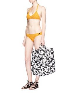 Stella McCartneyHorse print beach bag
