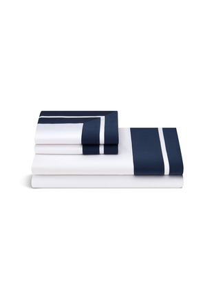 Main View - Click To Enlarge - Frette - Shading queen size sheet set