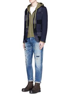 FDMTL'Trace Case Study 27' Sashiko selvedge jeans