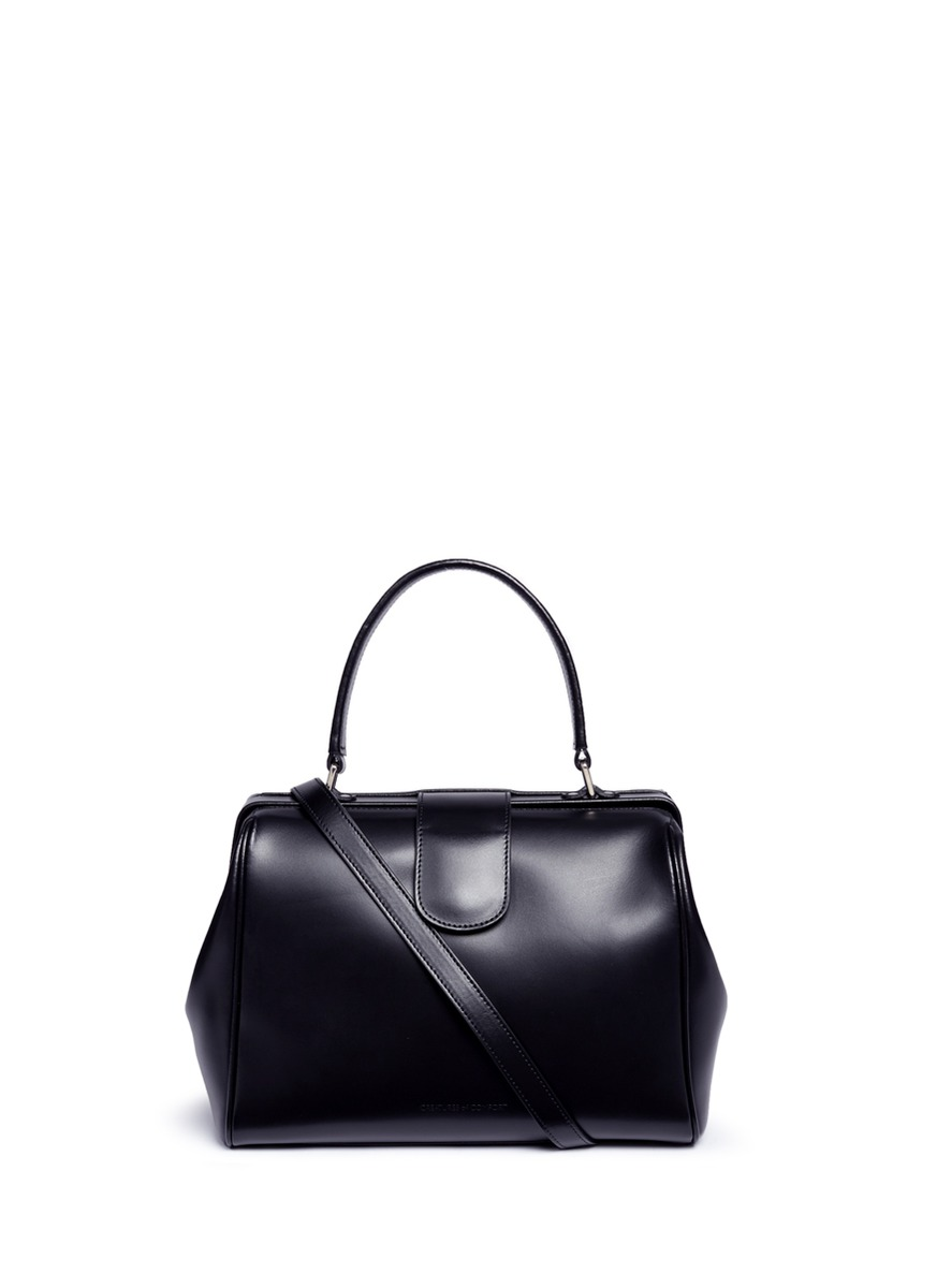 Dr. Bag calfskin leather bag by Creatures Of Comfort