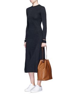 Creatures Of Comfort'Apple' medium pebbled leather shoulder bag