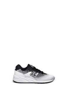 New Balance '580 Re-Engineered Jacquard' gradient effect sneakers