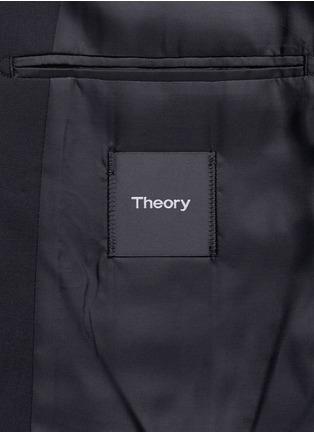Theory-'Wellar' slim fit stretch wool blazer