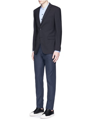 Figure View - Click To Enlarge - Theory - 'Wellar' slim fit stretch wool blazer