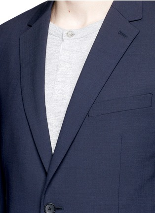 Detail View - Click To Enlarge - Theory - 'Wellar' slim fit stretch wool blazer