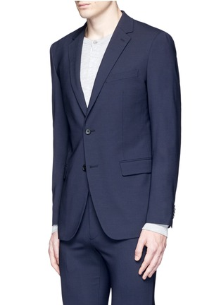 Front View - Click To Enlarge - Theory - 'Wellar' slim fit stretch wool blazer