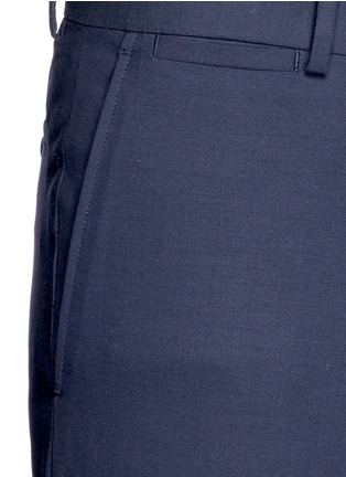 Detail View - Click To Enlarge - Theory - 'Marlo' straight leg stretch wool pants
