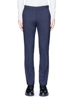 'Marlo' straight leg stretch wool pants