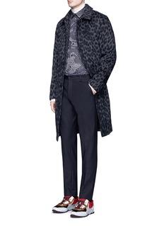 KENZOStretch cotton-blend pants