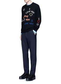 KENZO 'I Love U' knit sweater