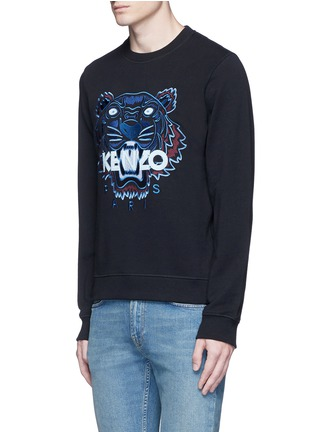 Front View - Click To Enlarge - KENZO - Tiger embroidery sweatshirt