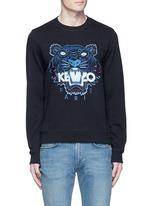 Tiger embroidery sweatshirt