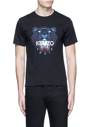 Main View - Click To Enlarge - KENZO - Tiger print T-shirt