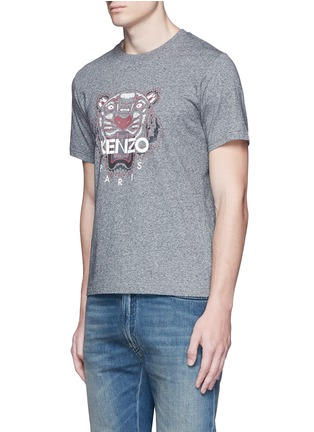 Front View - Click To Enlarge - KENZO - Tiger print T-shirt