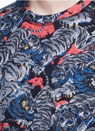 KENZO-Tiger print T-shirt