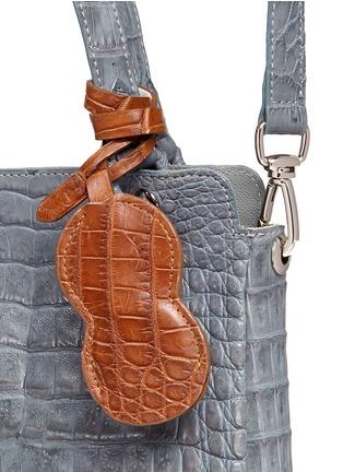 Celestina -'Doris' Caiman crocodile leather bag