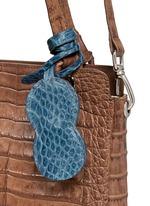 'Doris' Caiman crocodile leather bag