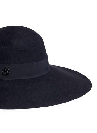 Detail View - Click To Enlarge - Maison Michel - 'Blanche' rabbit furfelt capeline hat