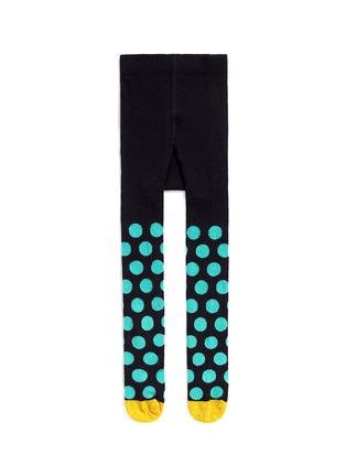 Main View - Click To Enlarge - Happy Socks - Big polka dot kids tights