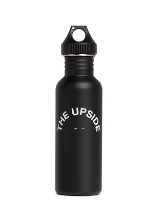 Main View - Click To Enlarge - The Upside - 'The Hydra' logo print water bottle
