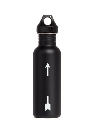 Figure View - Click To Enlarge - The Upside - 'The Hydra' logo print water bottle