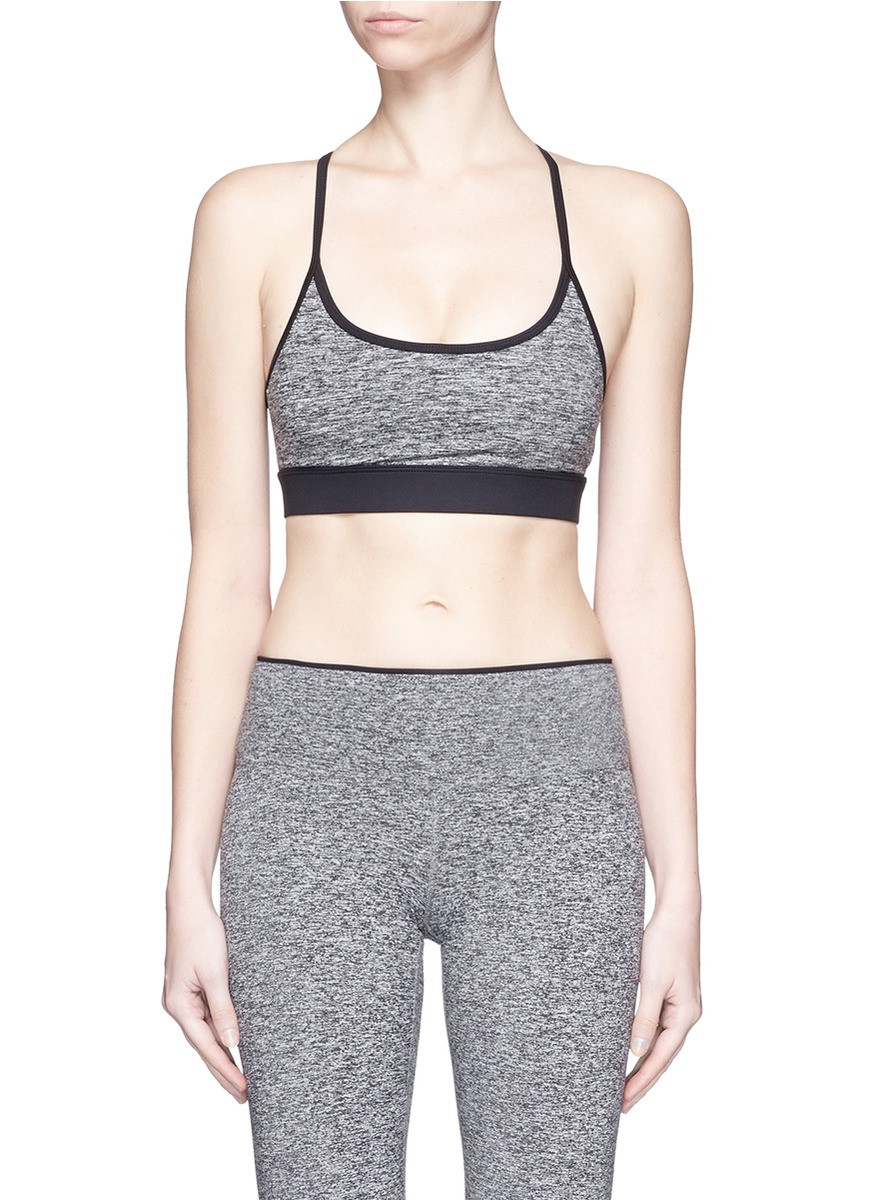Lucent lattice back sports bra top by KORAL