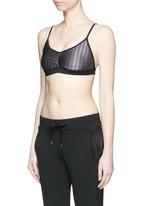 'Millennium Versatility' crisscross back sports bra